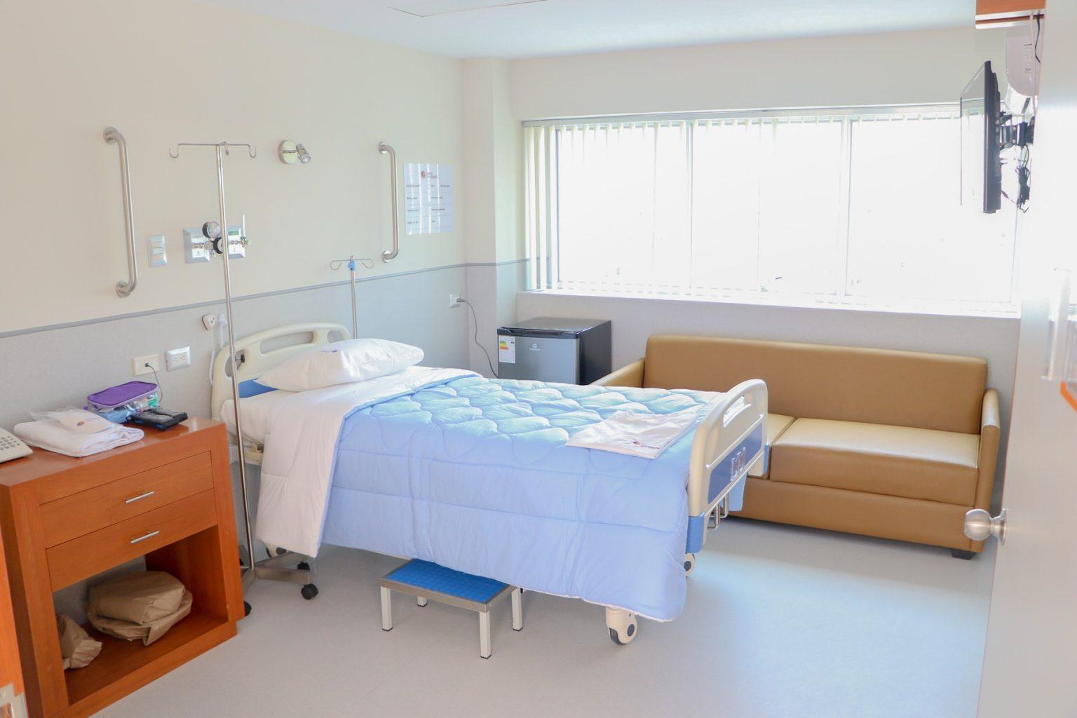 Ampliación del área hospitalaria